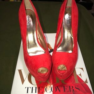 Charlotte Russe bright red heels 👠